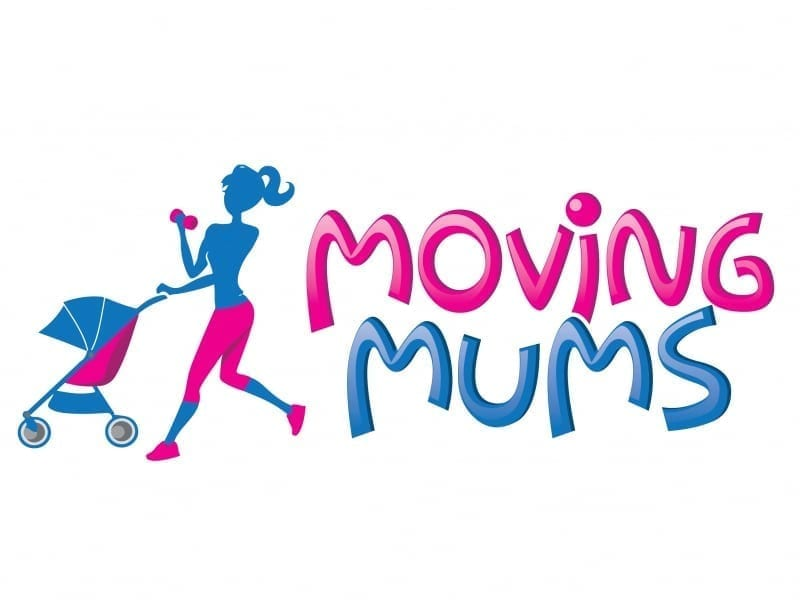 Cartoon logo moving mums