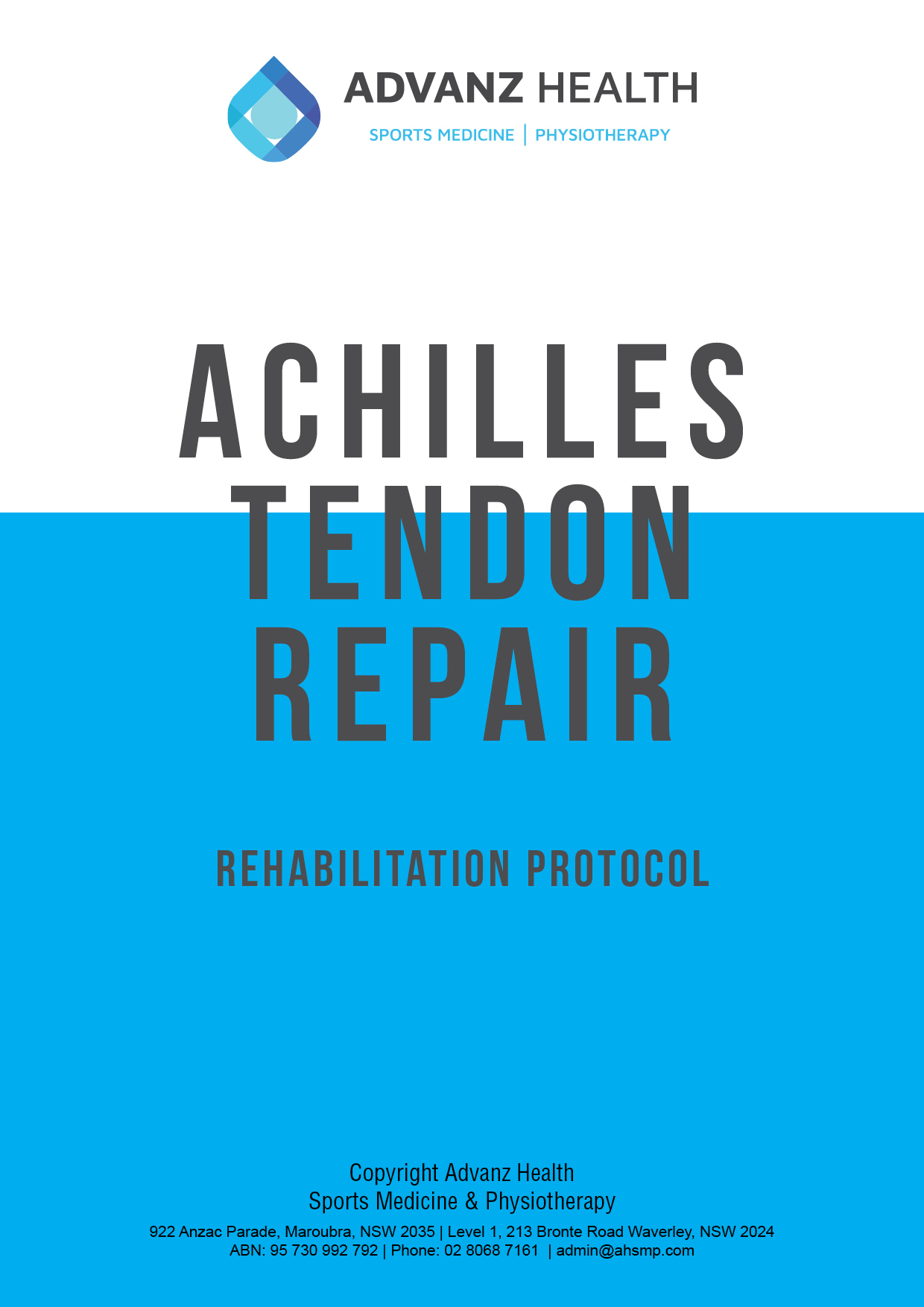 Achilles tendon cover image