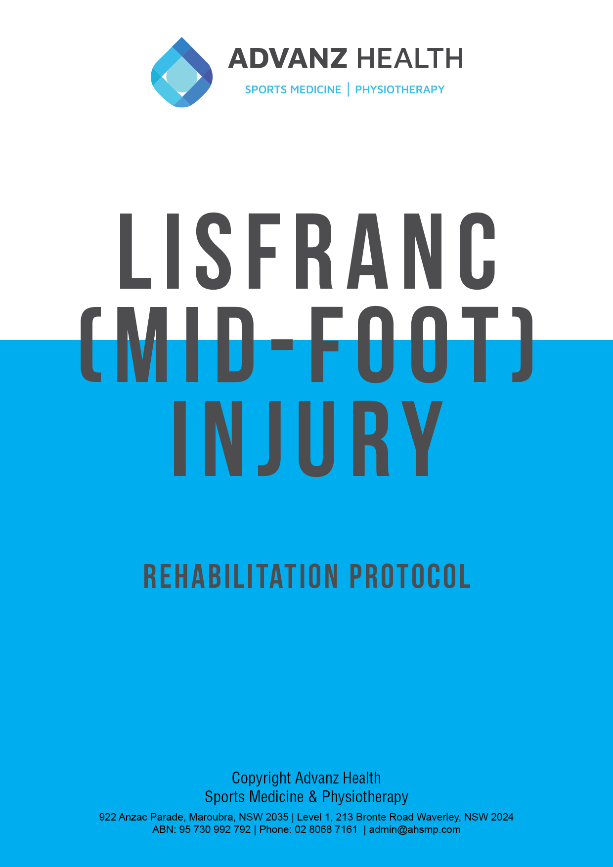 lisfranc cover image